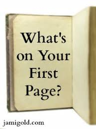 First Pages Tips To Avoid Cliches And Weak Writing Jami