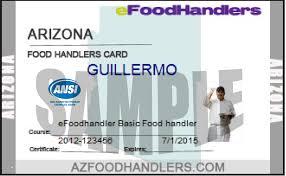 food handlers card az