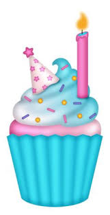 birthday cupcakes clipart.  Cupcakes Clip Art Birthday Cupcake Blue Clipart 1 Throughout Cupcakes I
