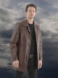 toby men s designer leather jacket
