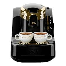Turkish coffee machines are easiest way to prepare delicious turkish coffee for you and your friends/family. Arzum Okka Automatic Turkish Coffee Machine Black Gold Arzum Egypt