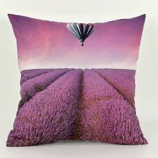 45 45cm decorative throw pillows purple cushion cover lavender housse de coussin 3d 1 side