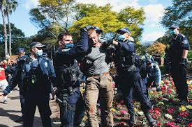 Maybe you would like to learn more about one of these? Nsw Police Set Up Strike Force To Find Anti Lockdown Protesters After Thousands Shut Down Sydney Cbd Abc News