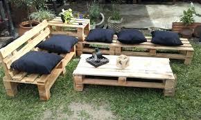 outdoor furniture with pallets garden furniture idea with old wood pallets pallet wood projects pallet porch