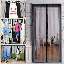 summer mosquito net curtain screen magnets door mesh insect fly intended for proportions 1010 x 1010
