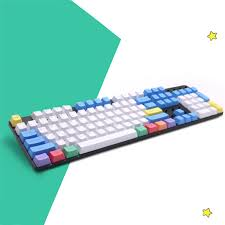 Retro <b>Keycaps PBT</b> Blank Thick <b>PBT Chalk Keyset Keycap</b> for ...
