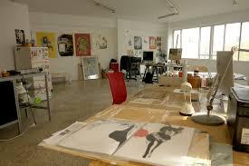 contemporary art furniture. Interior Of A Greek Contemporary Artist\u0027s Workshop In Athens, Greece Art Furniture U