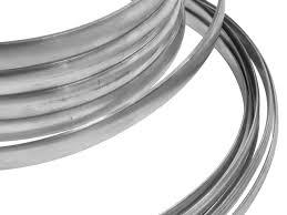 sterling silver d shape wire 11 0mm x 3 0mm flat edge sterling silver d shape wire 11 0mm x 3 0mm flat edge