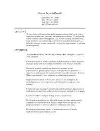 Pharmacist Resume Objective Templates Info Sample Preschool Teacher