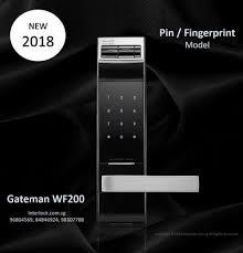 gateman wf200 fingerprint lock new 2018