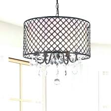black drum shade chandelier drum chandelier crystal drum chandelier chandelier enchanting drum light chandelier black drum