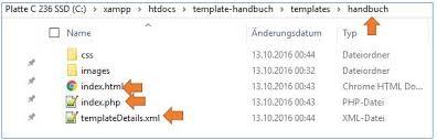Joomla Kompendium - Dateien anlegen