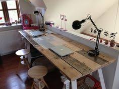 pallet desk wooden pallets and build your own on pinterest build your own office