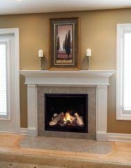 A Long Gas Fireplace   Gas Fireplace Lp Direct Vent Fireplace Ventless Natural Gas Fireplace