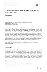 pdf a systematic literature review of