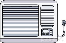air conditioner clipart. large image of air conditioner clip art clipart