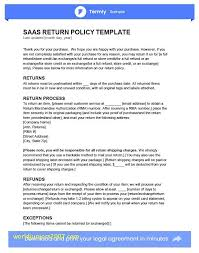 Return Or Cancellation Policy Template Refunds Policy Template ...