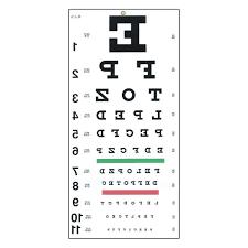 30 Uncommon Printable Eye Charts