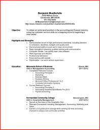 Objective In A Resume Objective In A Resume Accountant Objective