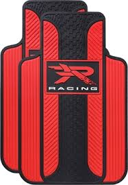 cool car floor mats. Plain Car Picture Of R Racing Red Velocity Floor Mats On Cool Car