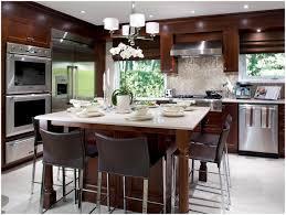 Kitchen Island Furniture With Seating Kitchen Railing Back Chairs Modern Kitchen With Island Kitchen