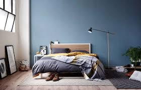 hunting for george bedding dark blue bedroom walls