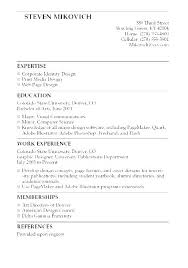 Student Resumes Amazing Sample College Graduate Resume Sample Resume For Summer Job College