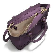 Lyst - Coach Legacy Mini Tanner Crossbody in Leather in Purple
