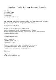 Semi Truck Driver Cover Letter Sarahepps Com