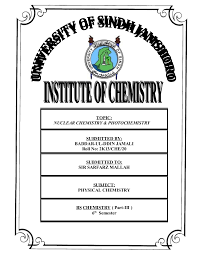 Chemistry Cover Page Designs Assignment Front Page Design Magdalene Project Org