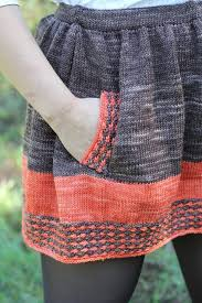 Knit Skirt Pattern