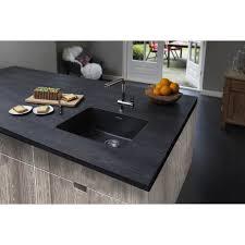 Black Undermount Kitchen Sinks Reginox Ohio 50x40 10 Bowl Granite Black Undermount Kitchen Sink