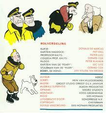 A La Recherche Du Tintin Perdu Frutsels Stronterijen En Flexisingles