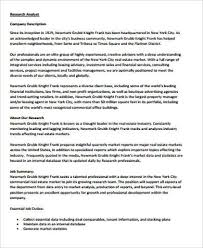 real estate research analyst job description real estate property manager job description