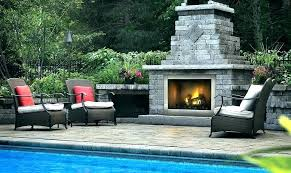 outdoor gas fireplace kit stone outdoor gas fire pit kits