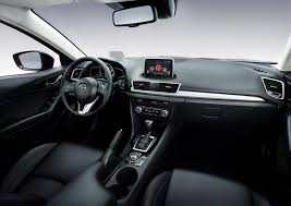 mazda 3 2015. inside the mazda3 is welldesigned and highquality featuring a sleek mazda 3 2015