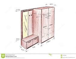 Image Technical Modern Interior Design Entrance Freehand Drawing Dreamstimecom Modern Interior Design Entrance Freehand Drawing Stock Illustration