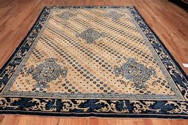 decorative room size antique oriental chinese rug 49542 by