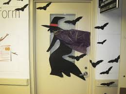 office halloween decoration. Charming Office Ideas Halloween Door Decoration Decorating Contest 618x464 Furniture Decor Images S