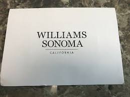 williams sonoma gift card credit