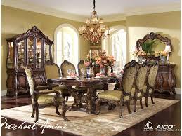 Michael Amini Living Room Set Michael Amini Chateau Beauvais 9 Piece Ornate Formal Dining Room