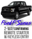 code alarm remotes pursuit replacement remote by audiovox ford f 150 f250 f350 2 way remote car starter kit