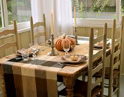 simple dining room table decor. Ideas. Adorable Home Party Dinner Thanksgiving Inspiring Design Display Simple Dining Table With Special Orange Room Decor