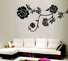 Small Picture Flower Decals for Walls Ideas Inspiration Home Designs