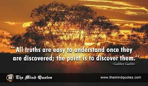 Discovery Quotes Fascinating Galileo Galilei Quotes On Discovery And Truth Themindquotes