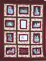 Family Photo Quilt Patterns Family Photo Quilt Ideas Memory Quilts ... & Photo Quilts Ideas Family Photo Quilt Patterns Photo Quilt Family Picture  Quilt Patterns Adamdwight.com
