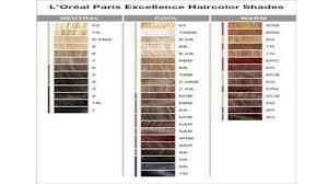 l paris excellence hair color