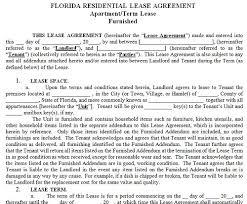Free Printable Basic Rental Agreement Florida Download Them Or Print