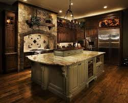 Old World Decorating Accessories Exotic Tuscan Kitchen Ideas with Old World Bar Stools All About 29