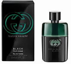 gucci 50ml. perfumes :: mens eau de toilette gucci guilty black homme 50ml spray